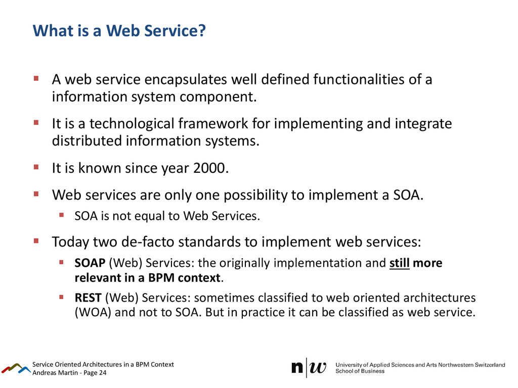 Andreas Martin - Page 24 What is a Web Service?...