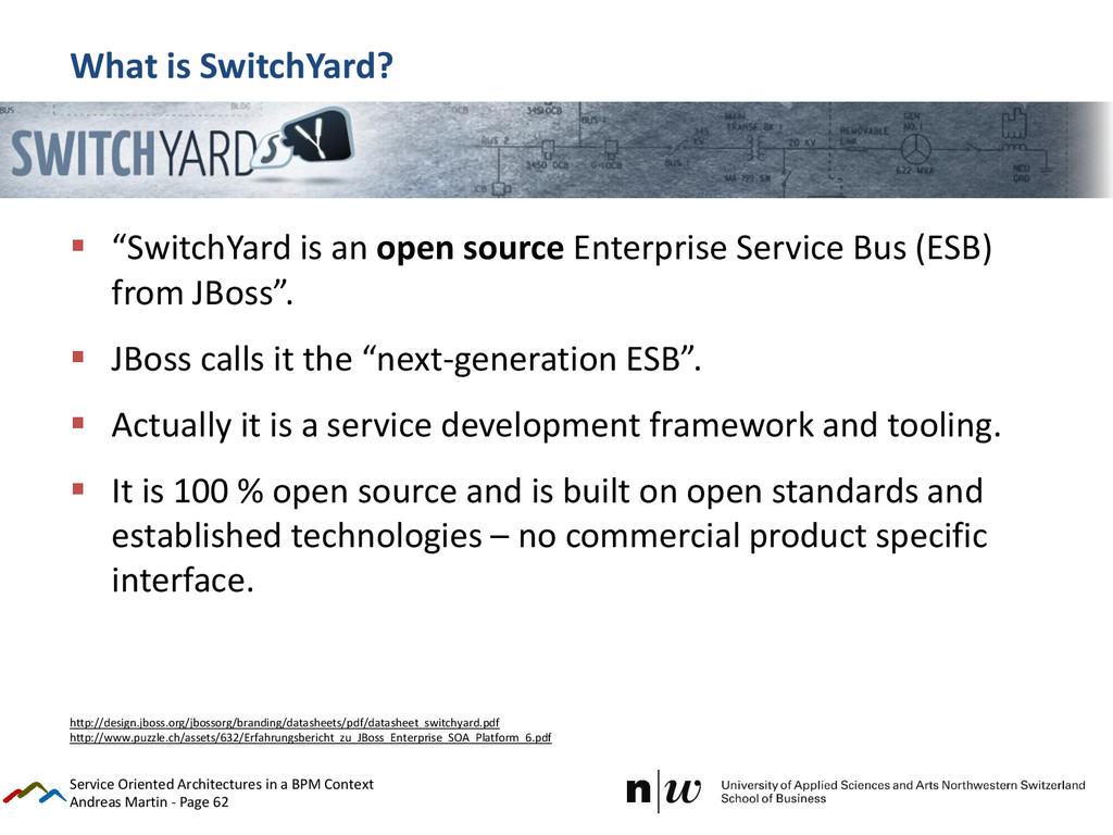Andreas Martin - Page 62 What is SwitchYard?  ...