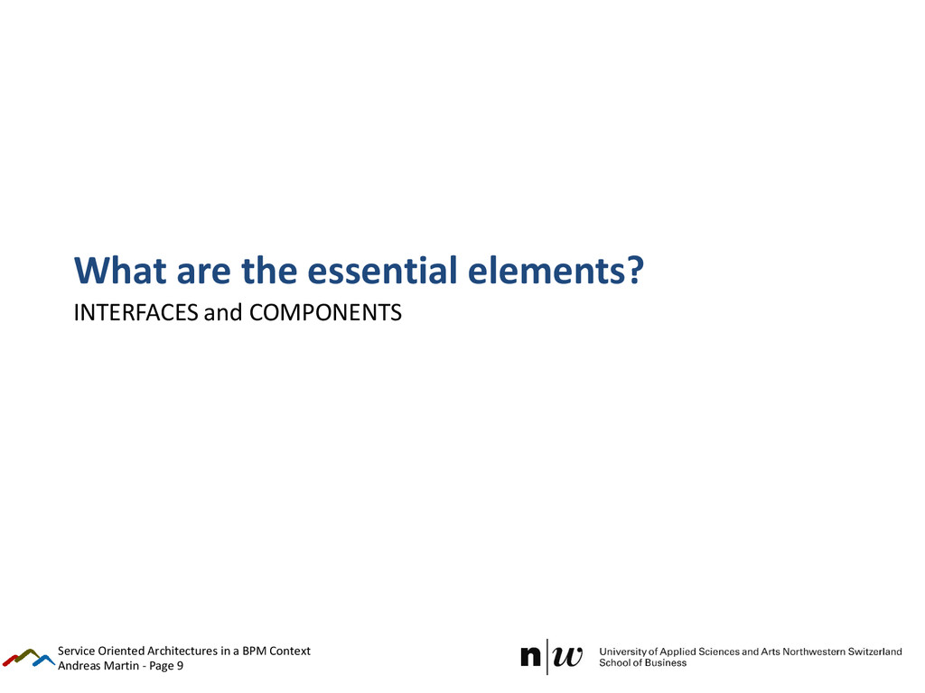 Andreas Martin - Page 9 What are the essential ...