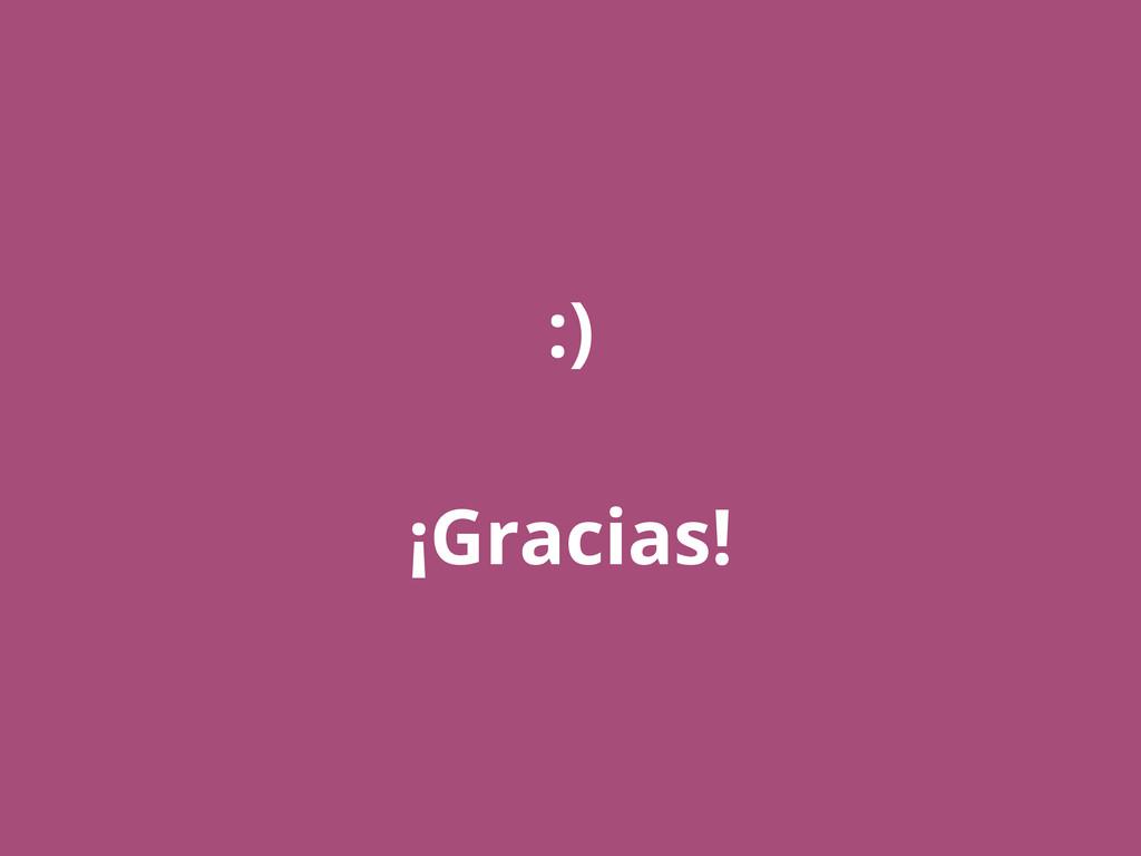 :) ¡Gracias!