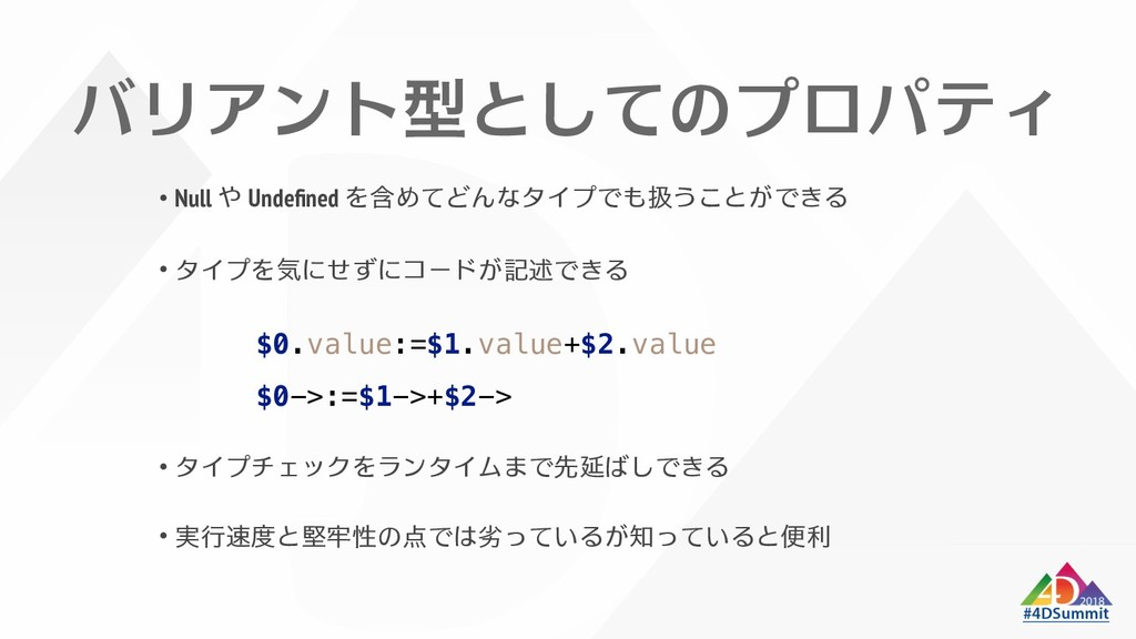 / Null Undefined $0.value:=$1.value+$2.value $0-...