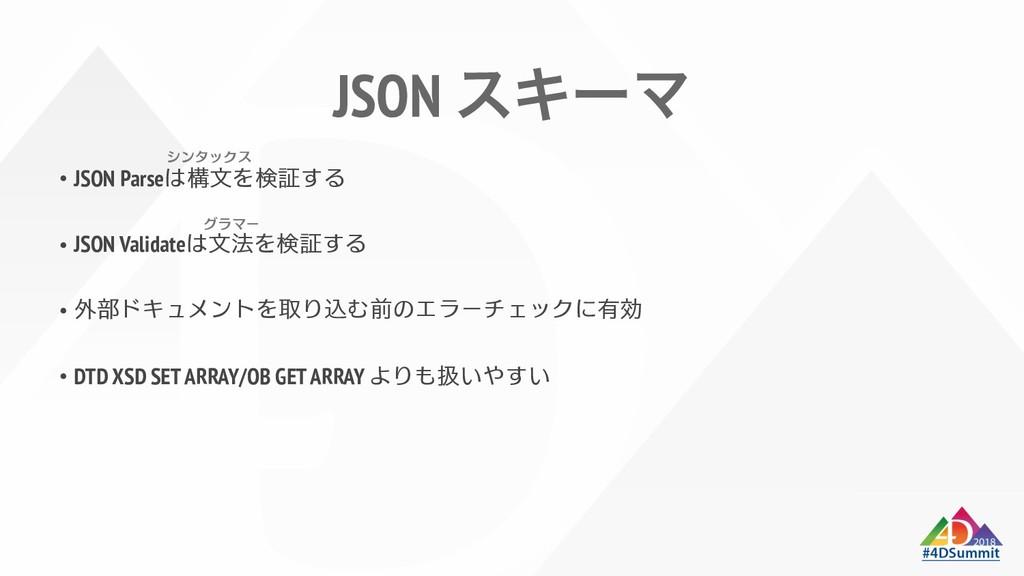 JSON εΩʔϚ JSON Parse JSON Validate DTD XSD SET ...
