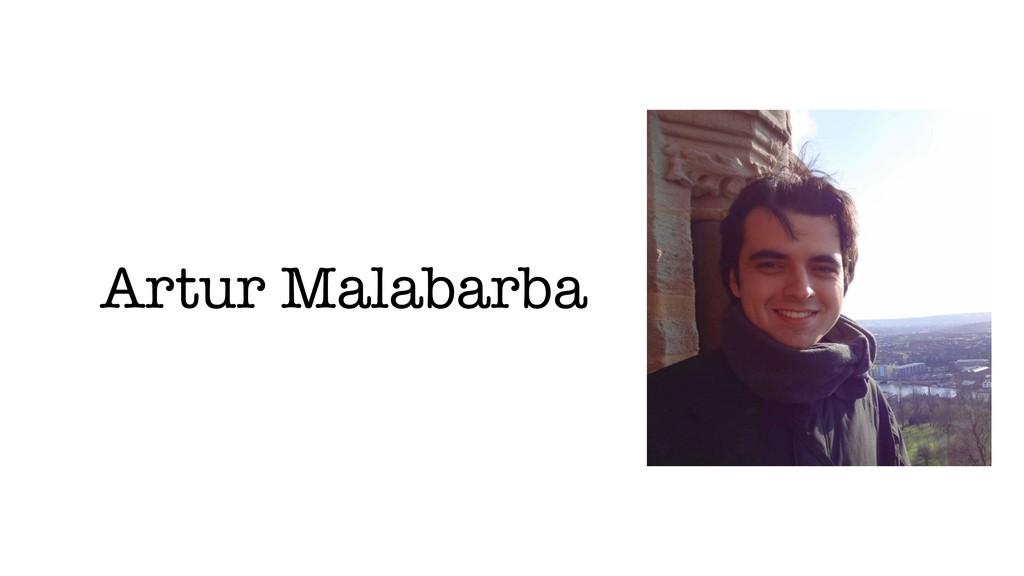 Artur Malabarba