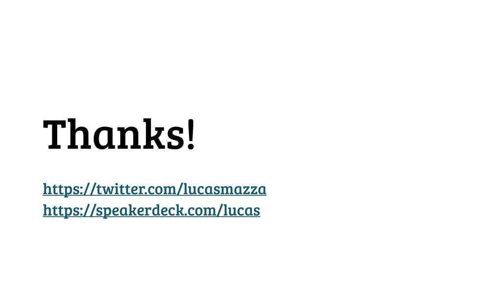 Thanks! https://twitter.com/lucasmazza https://...