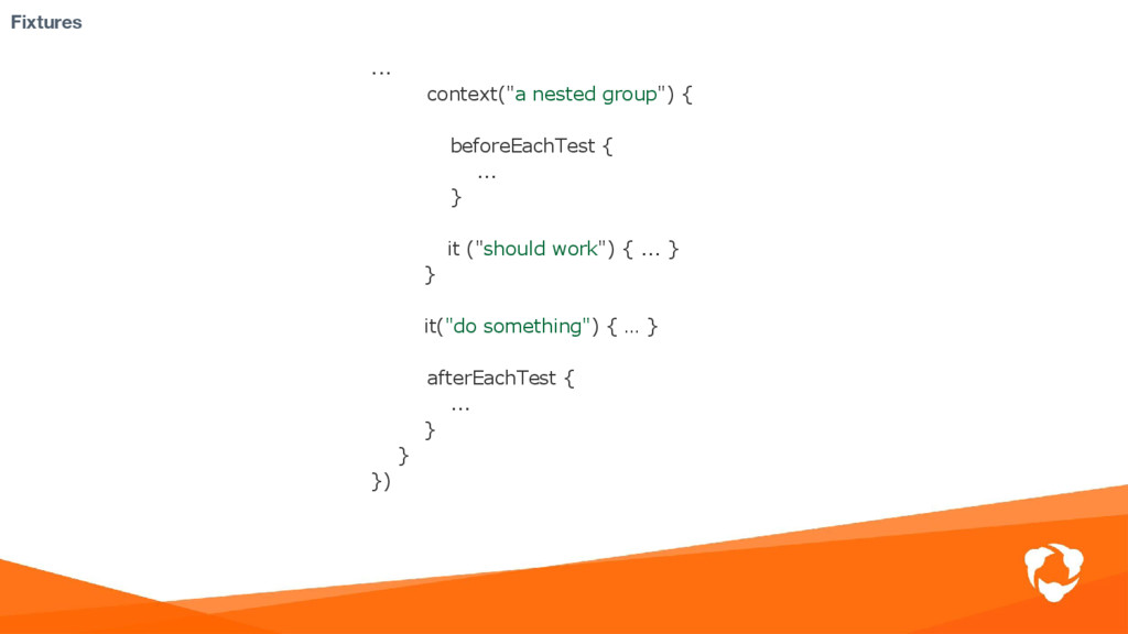 """Fixtures ... context(""""a nested group"""") { before..."""