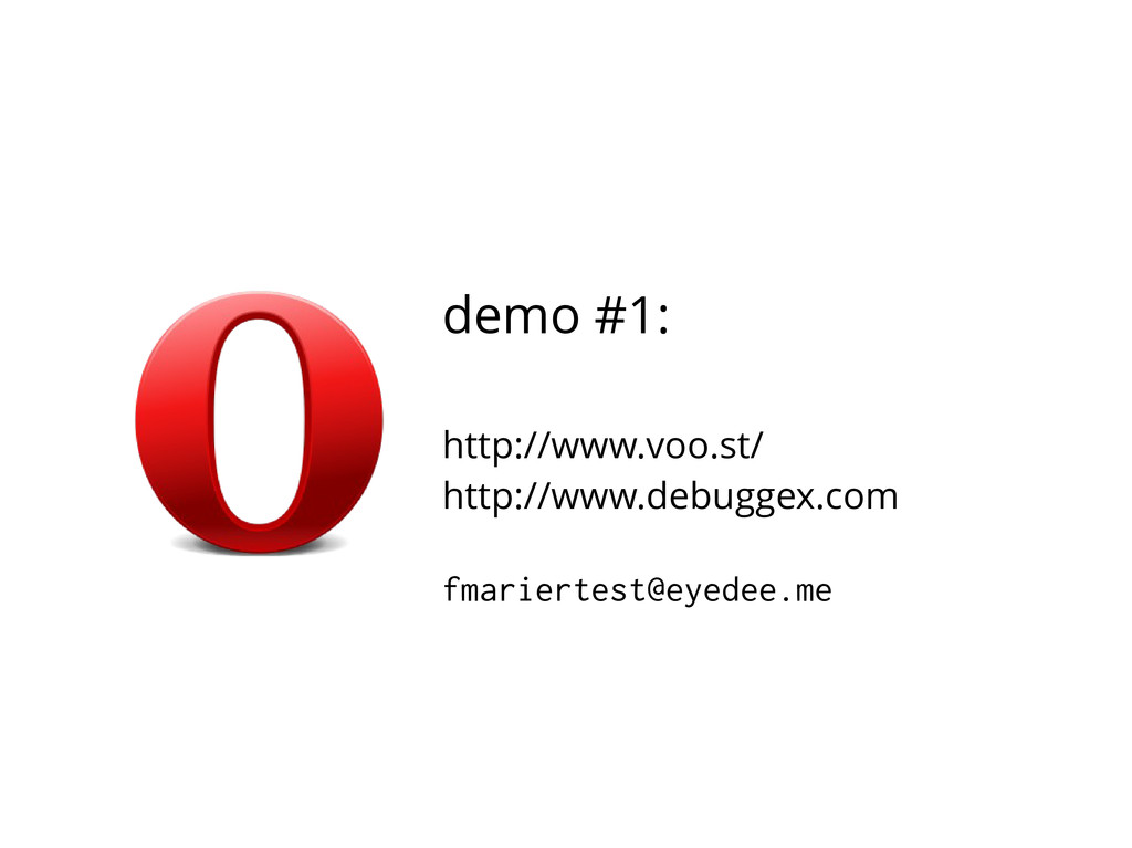demo #1: http://www.voo.st/ http://www.debuggex...