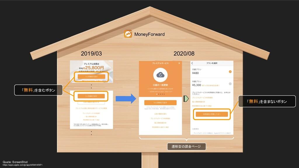 2019/03 MoneyForward 2020/08 ・ ・ ・ ・ 「無料」を含むボタン...