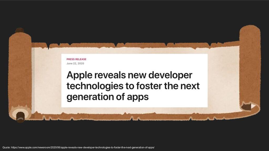 Quate: https://www.apple.com/newsroom/2020/06/a...