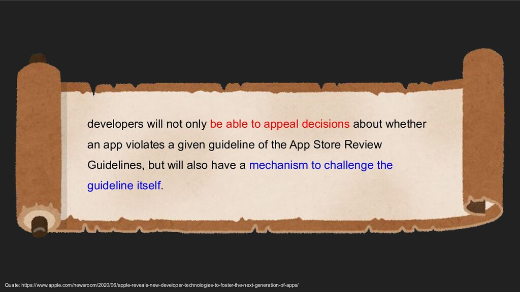 developers will not only be able to appeal deci...