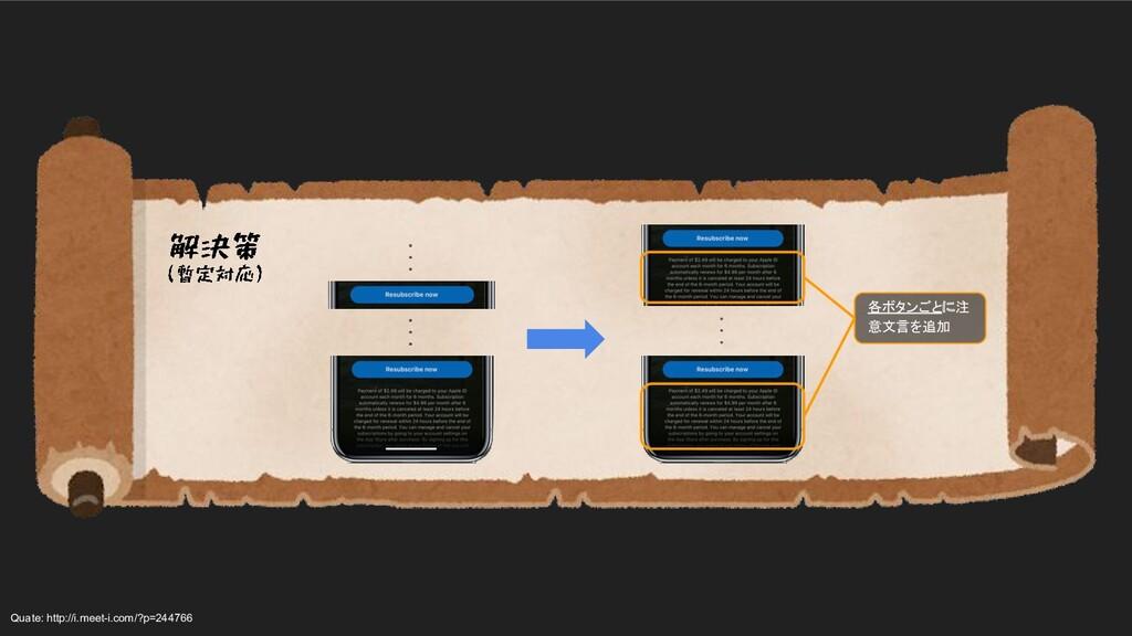 各ボタンごとに注 意文言を追加 ・ ・ ・ ・ ・ ・ Quate: http://i.me...