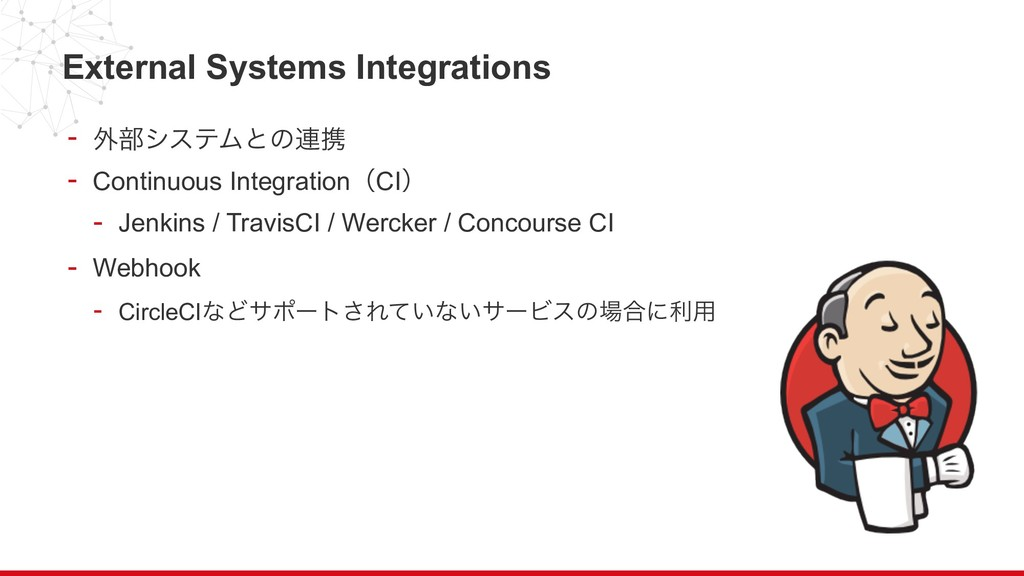 External Systems Integrations - ֎෦γεςϜͱͷ࿈ܞ - Co...