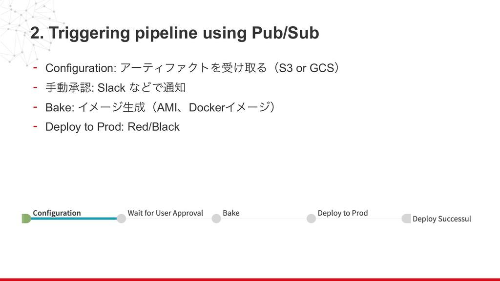 2. Triggering pipeline using Pub/Sub - Configur...