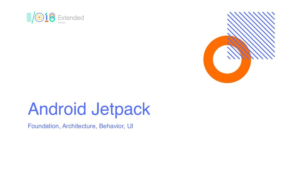 Android Jetpack Foundation, Architecture, Behav...