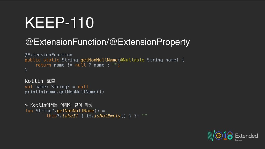 KEEP-110 @ExtensionFunction/@ExtensionProperty ...