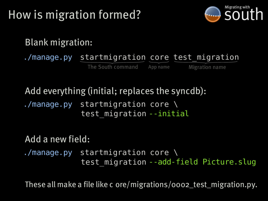 How�is�migration�formed? south Migrating�with ....