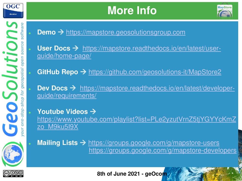 More Info ⚫ Demo → https://mapstore.geosolution...