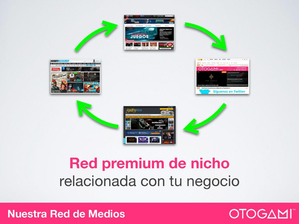 Nuestra Red de Medios Red premium de nicho rela...