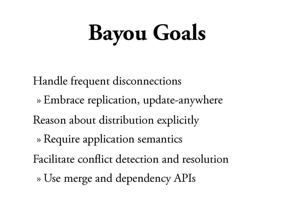 Bayou Goals Handle frequent disconnections » Em...