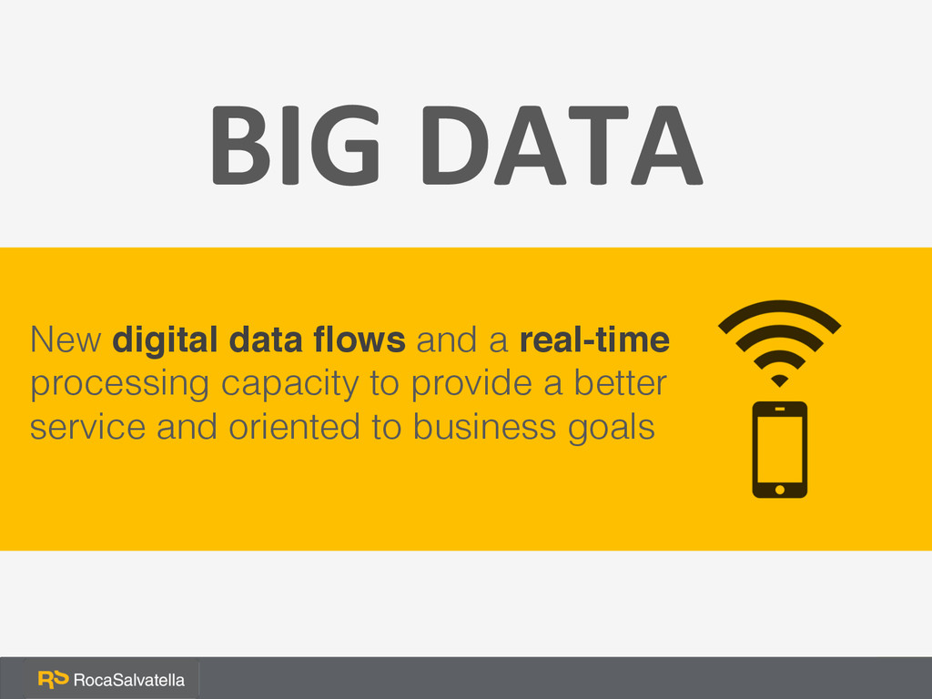 New digital data flows and a real-time processin...