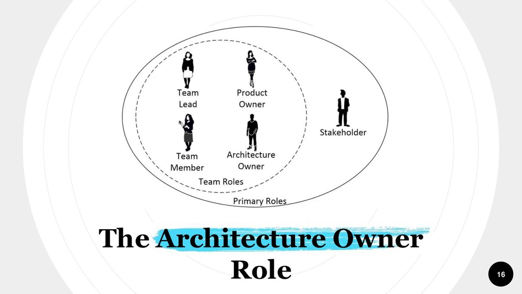 The Architecture Owner Role 16