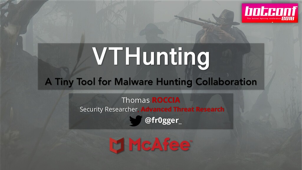 VTHunting A Tiny Tool for Malware Hunting Colla...