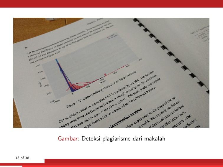 Gambar: Deteksi plagiarisme dari makalah 13 of ...