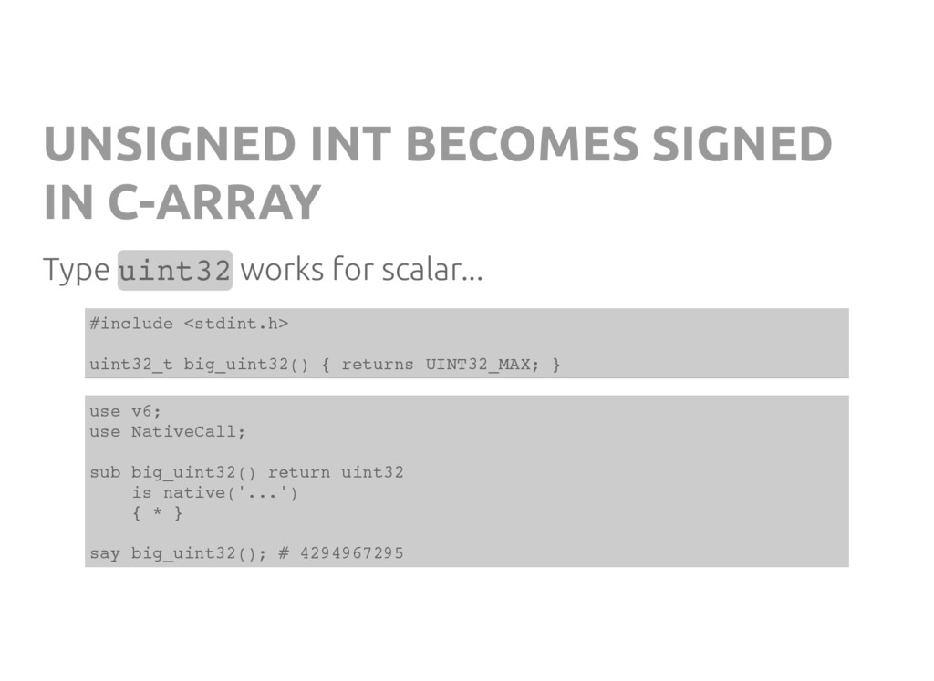 UNSIGNED INT BECOMES SIGNED IN C-ARRAY Type u i...