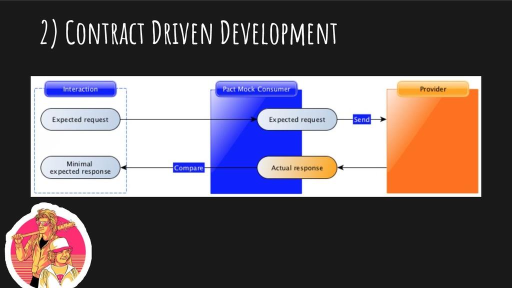 2) Contract Driven Development