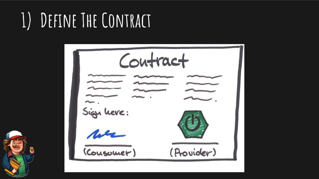 1) Define The Contract
