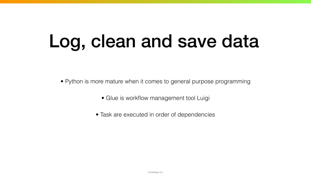 • Python is more mature when it comes to genera...