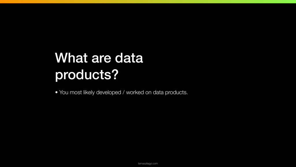 • You most likely developed / worked on data pr...
