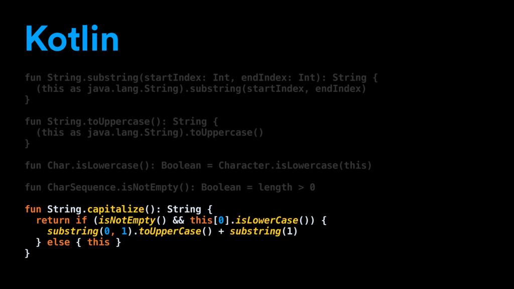 Kotlin fun String.substring(startIndex: Int, en...