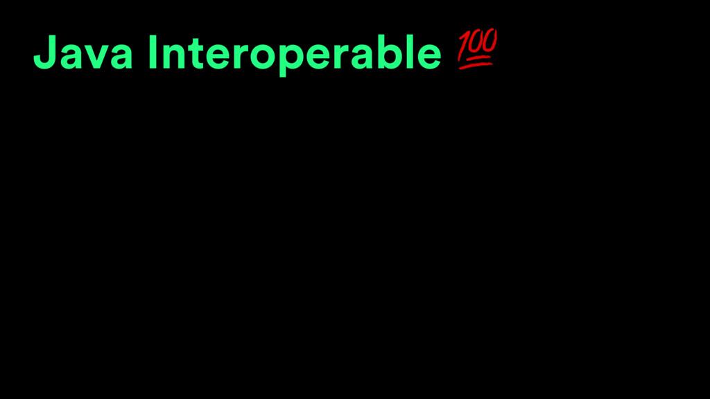 Java Interoperable