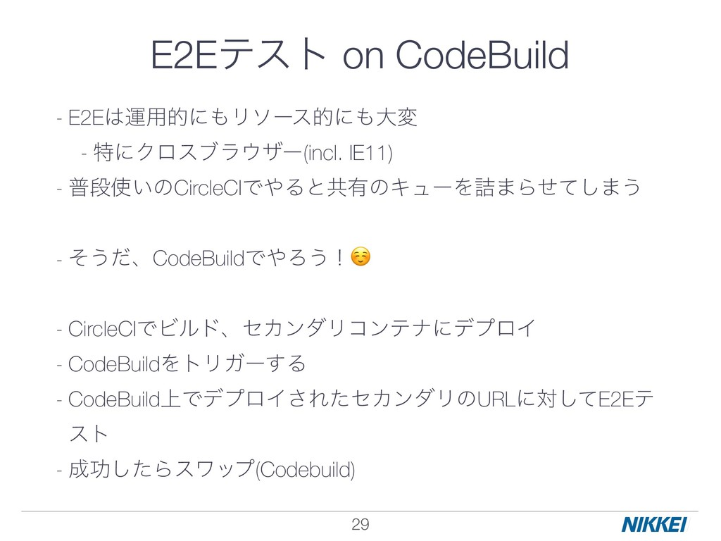 !29 - E2Eӡ༻తʹϦιʔεతʹେม - ಛʹΫϩεϒϥβʔ(incl. IE1...
