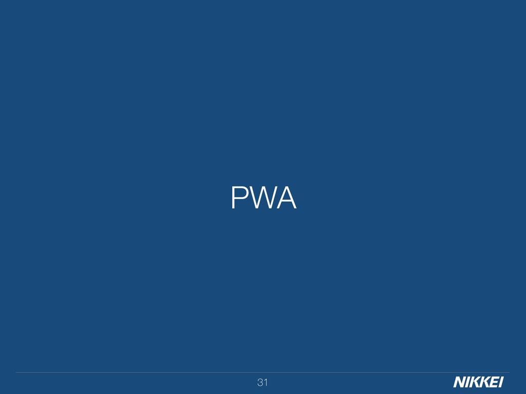 PWA 31