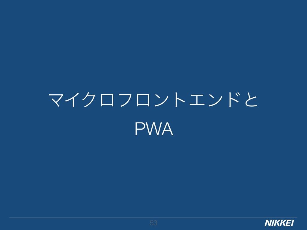 ϚΠΫϩϑϩϯτΤϯυͱ PWA !53