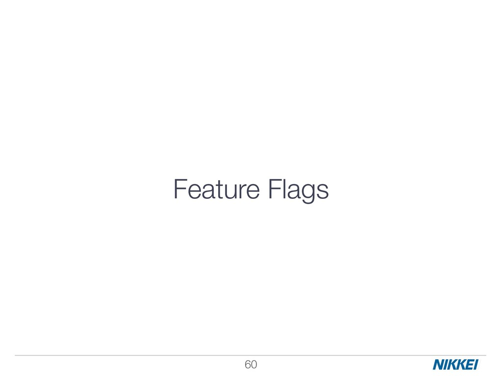 Feature Flags !60