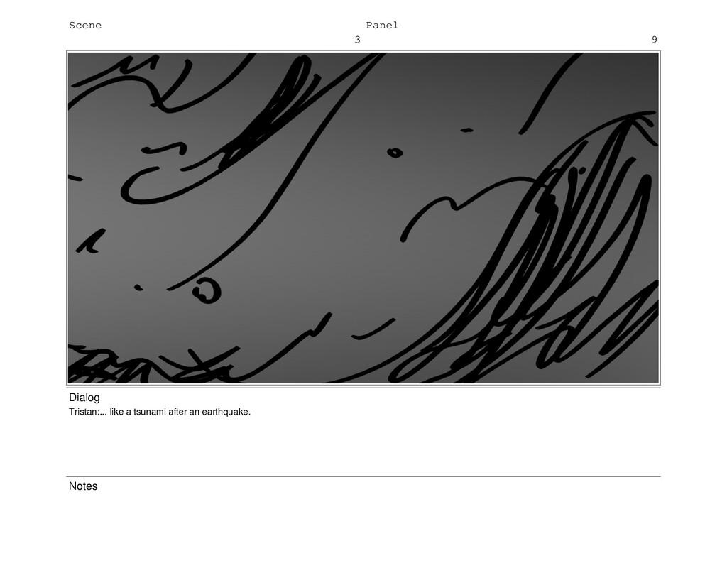 Scene 3 Panel 9 Dialog Tristan:... like a tsuna...