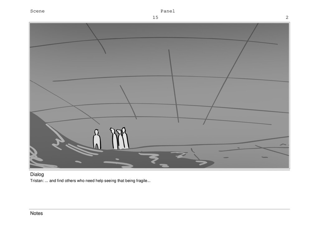 Scene 15 Panel 2 Dialog Tristan: ... and find o...