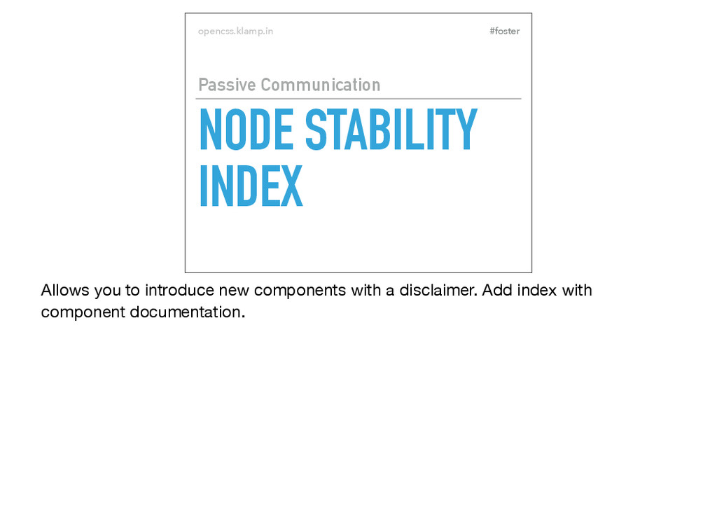 #foster opencss.klamp.in NODE STABILITY INDEX P...