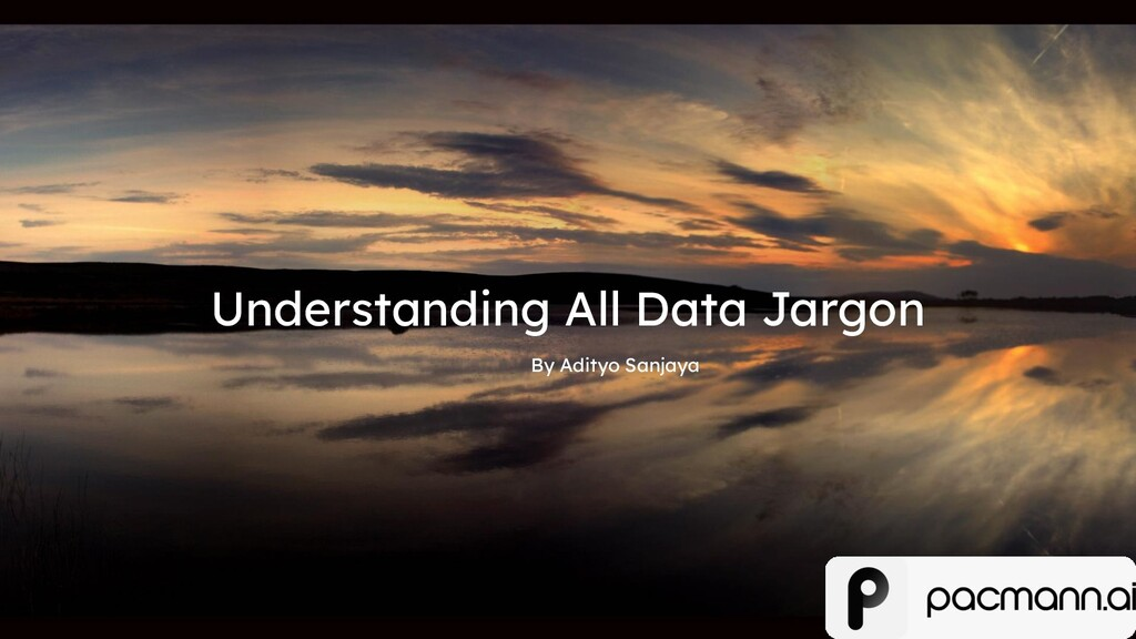 Understanding All Data Jargon By Adityo Sanjaya