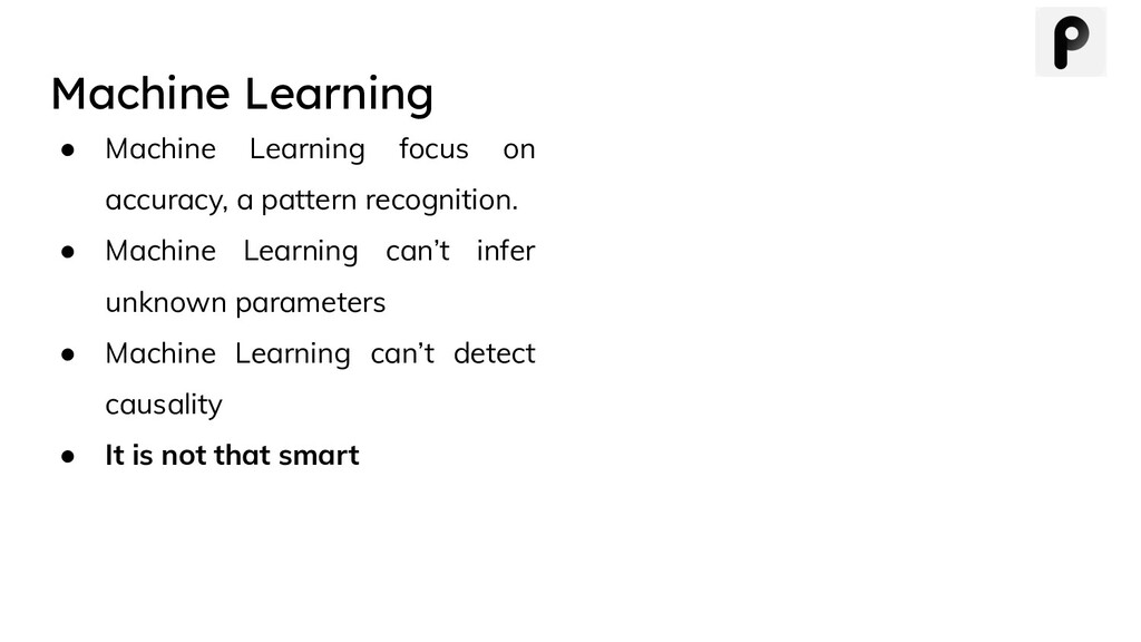 Machine Learning ● Machine Learning focus on ac...