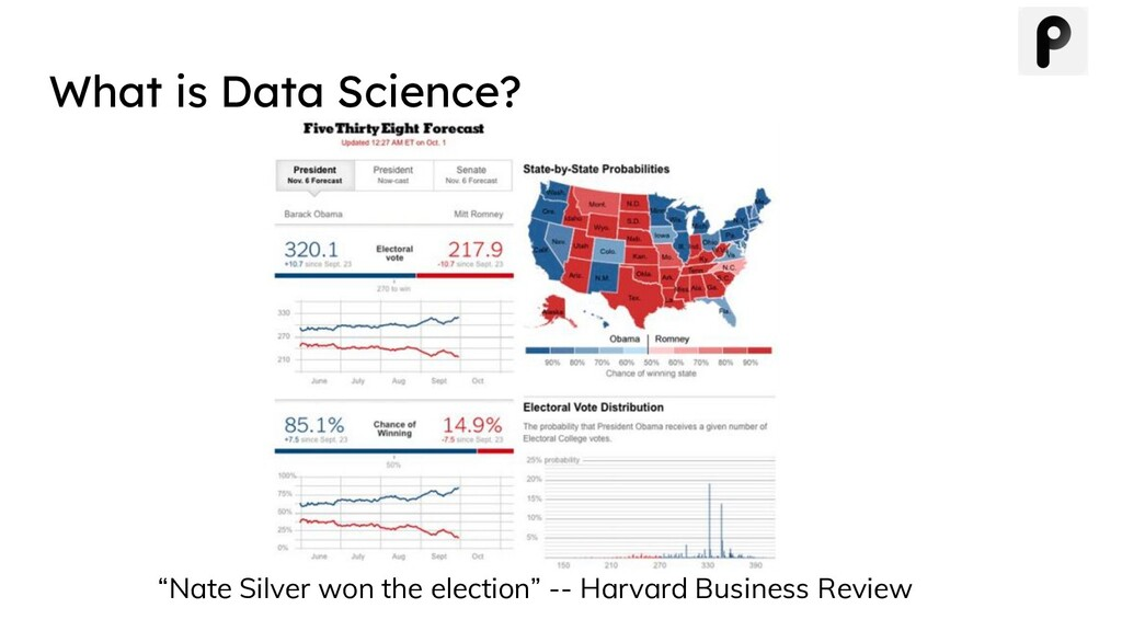 "What is Data Science? ""Nate Silver won the elec..."
