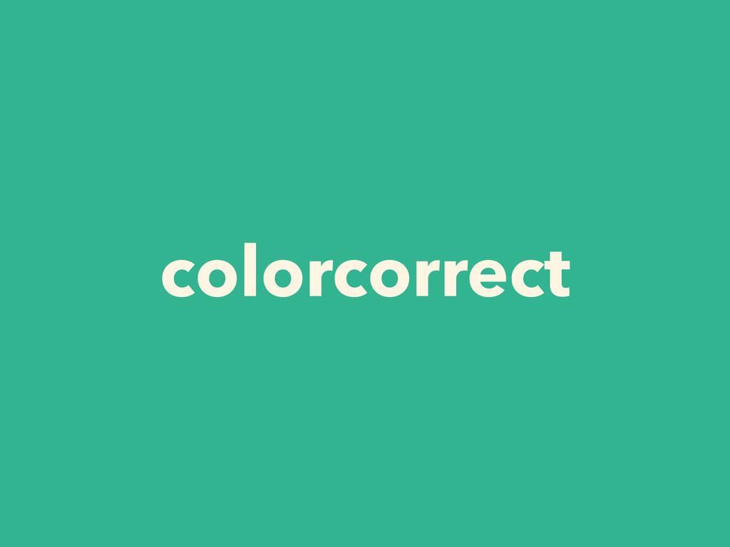 colorcorrect