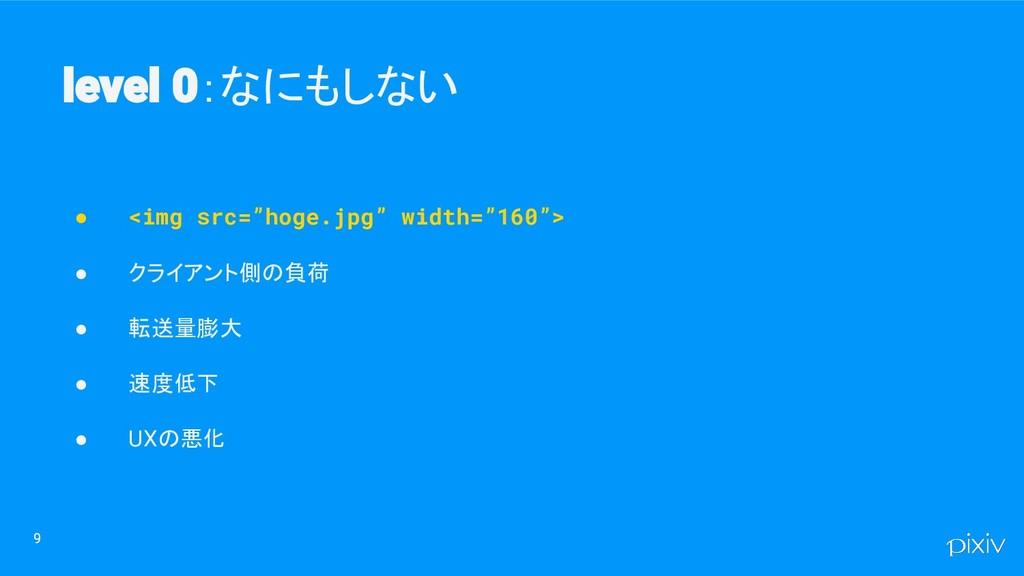 """9 :なにもしない 9 ● <img src=""""hoge.jpg"""" width=""""160""""> ..."""