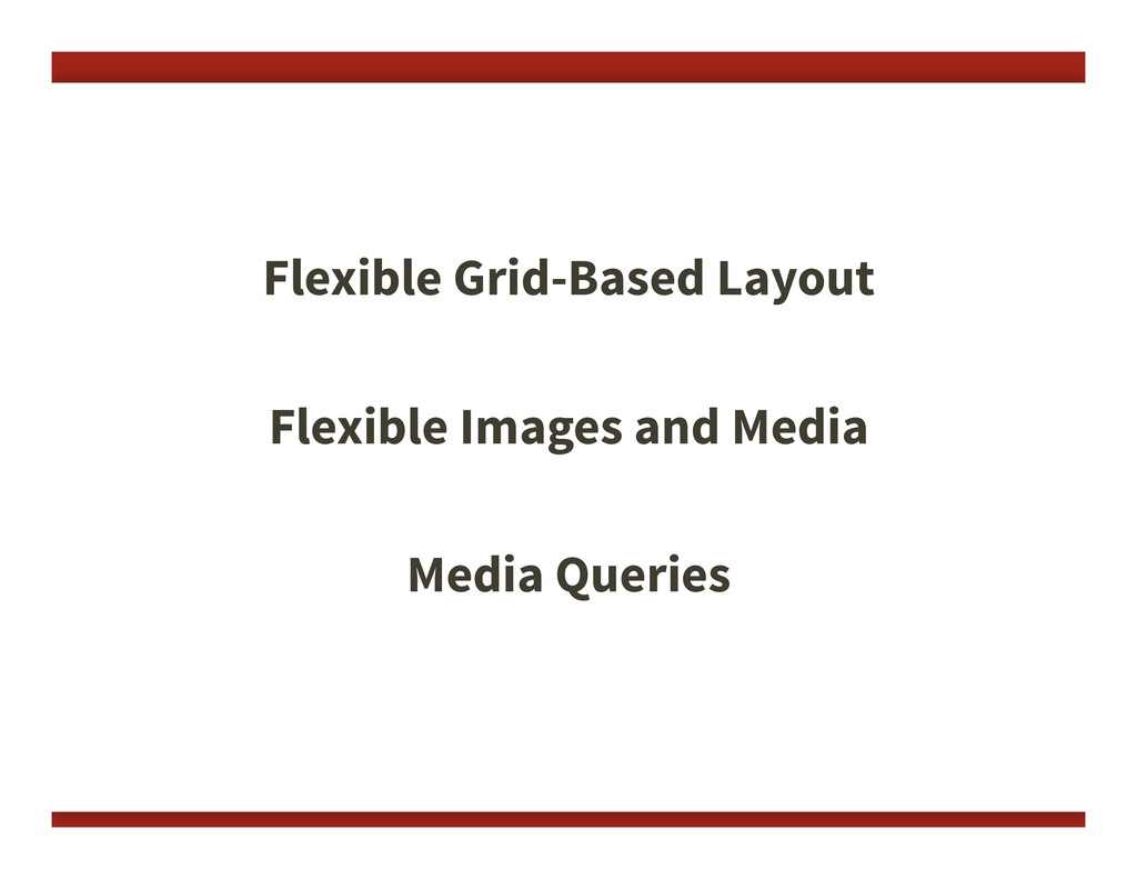 Flexible Grid-Based Layout