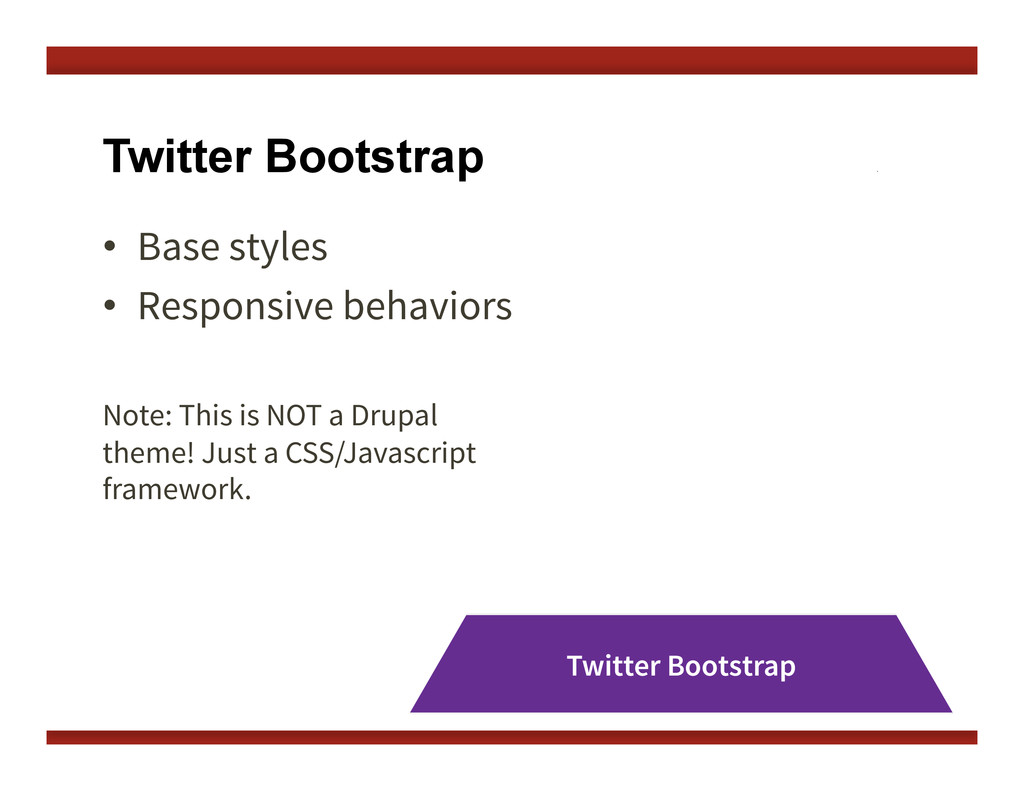 •  Base styles