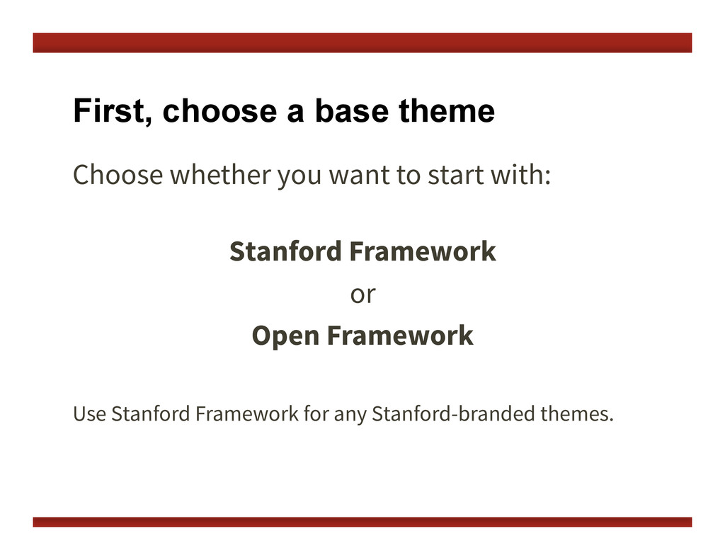 First, choose a base theme Choose whether you w...