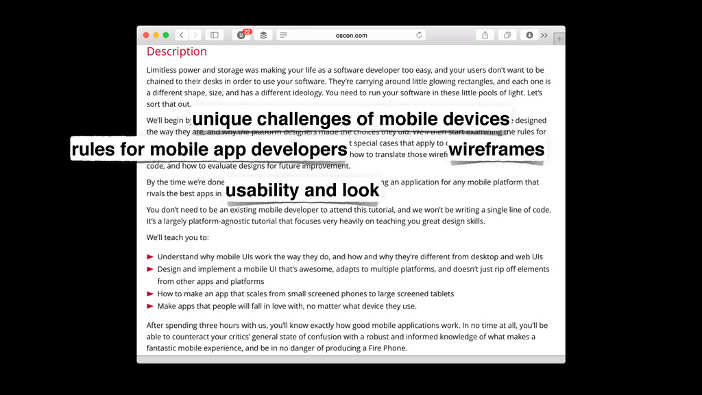 unique challenges of mobile devices rules for m...