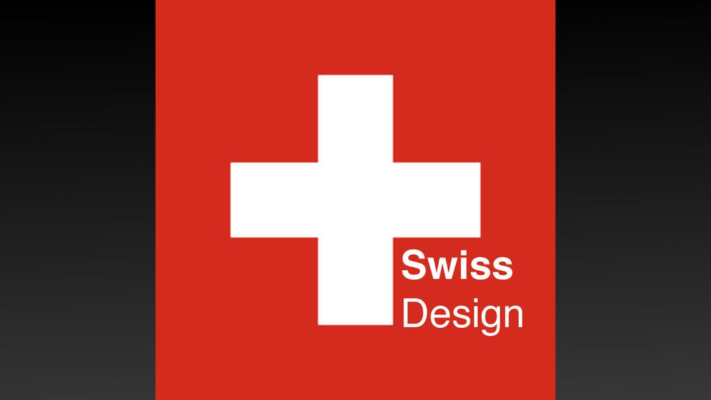 Swiss Design